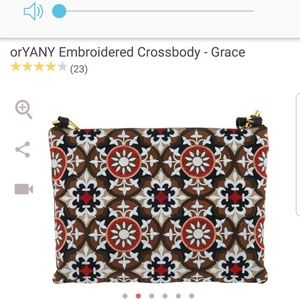 Oryany embroidered crossbody